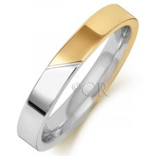 2 Colour Flat Court Ring