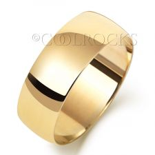 9ct Yellow Gold 7mm Court Shape Wedding Ring W167L