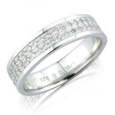 Micro Set Diamond Ring 0.39ct