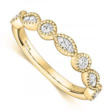 CR600-18ct Yellow Gold-H