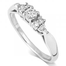 Round Brilliant Cut Diamond Ring 0.50ct
