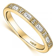18ct Yellow Gold Vintage Ring 0.19ct